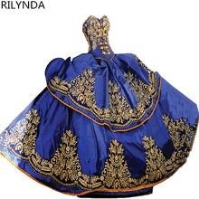 Бальное платье из тюля с бусинами недорогие платья quinceanera