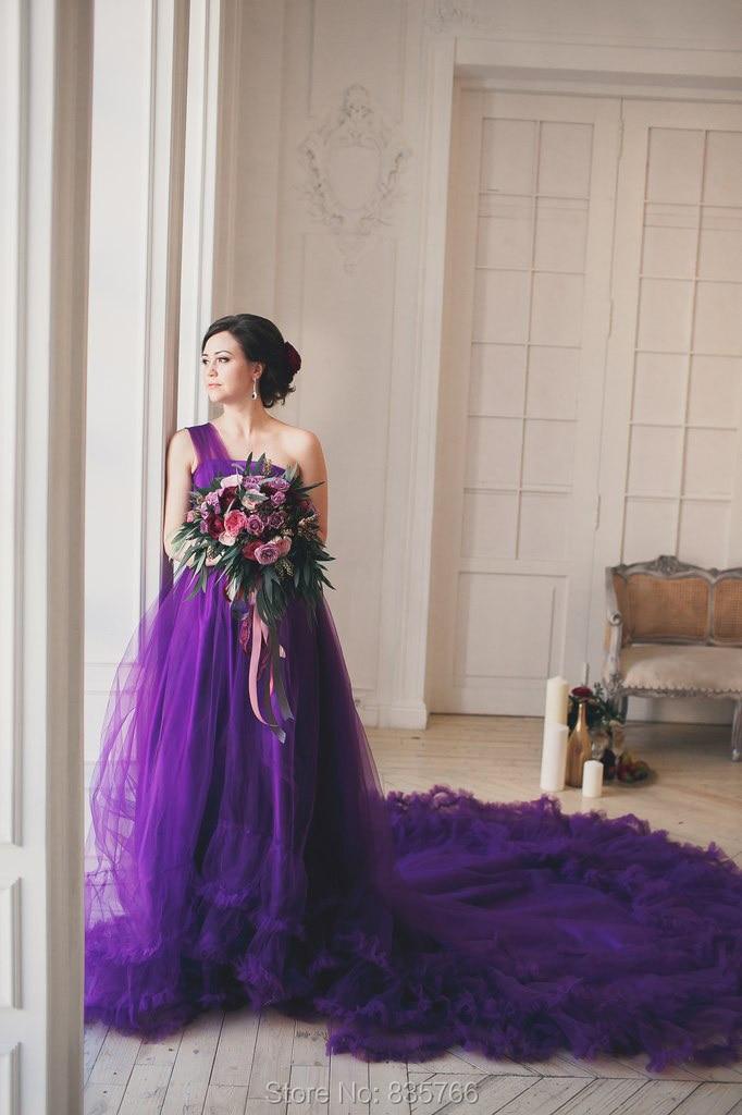 Popular Purple Wedding Dress-Buy Cheap Purple Wedding