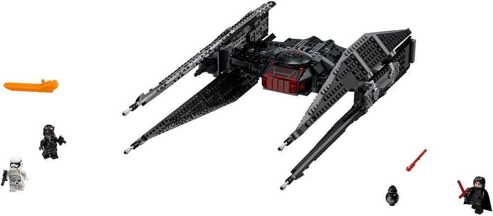 Brinquedos Estrela Guerras 705 pcs Estrela Kylo Legoing Conjunto Modelo de Blocos de Construção Tijolos brinquedos Lutador Empate Com LegoNGLY 75179 Qunlong starWars