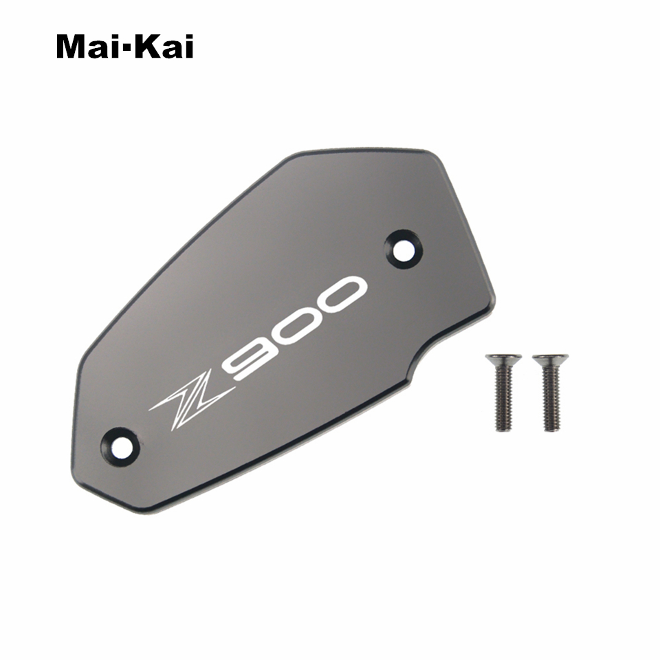 MAIKAI For KAWASAKI Z900 2017-2019 CNC Aluminum Motorcycle Brake Fluid Fuel Tank Cap Cover