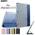 Case for ipad mini 1/2/3, esr (Versión Ultra Delgado) tríptico flip case smart cover auto función de despertador/sleep] para ipad mini 1/2/3