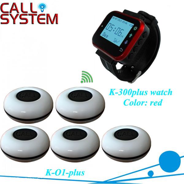 K-300PLUS-R+O1-WBK 1+5 Remote wireless paging system