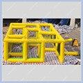 Горячий Продавать Бесплатная Доставка 5 м * 3 м Надувной Лабиринт Игры для Детей, Коммерческое Качество juegos inflables, надувной Лабиринт Игры