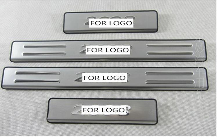 Creatief Accessoires Fit Voor Peugeot 206 207 301 308 408 508 307 2008 Rvs Deur Scuff Dorpel Step Plaat Cover Protector Platen