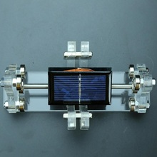 Solar motor magnetic suspension brushless scientific product decoration, send friends gifts, teaching model