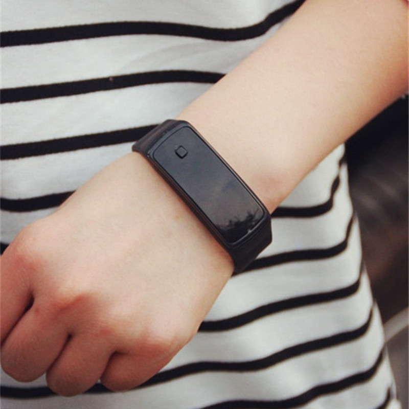 где купить 2017 new touch screen watches men Fashion creative Imitation Intelligent Digital women LED Electronic Watch Silicone wrist watch по лучшей цене