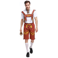 Adult Lederhosen Oktoberfest Mens Party Celebration Costume