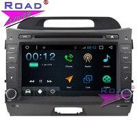 TOPNAVI Android 7,1 1 г + 16 ГБ 8 дюймовый автомобильный Media Center DVD плеер для KIA Sportage R стерео gps Navi двойной Din Авто аудио Wi Fi MP3