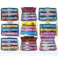 6pcs Korean stationery cartoon ruler wholesale 15CM variety of cute cartoon ruler plastic ruler sub 15 cm