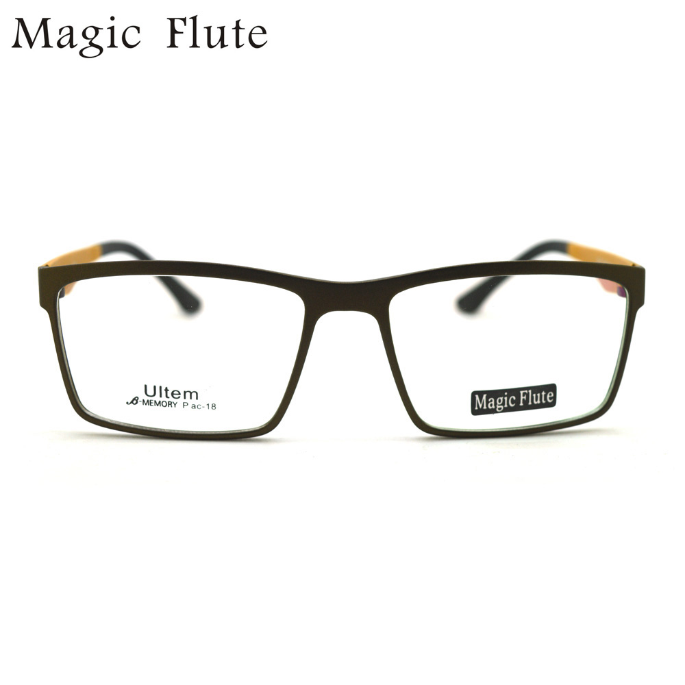 7695b06b650 2017 New Arrival ultem light optical frames eyeglasses Full frame for Men  or women big shape fashion prescription eyewear pac 18-in Eyewear Frames  from ...
