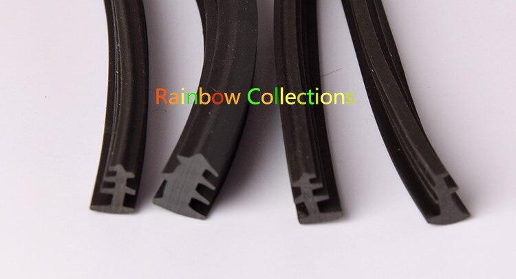 Top Leder dichtungen Vintage aluminium türen und fenster glas streifen OJ43
