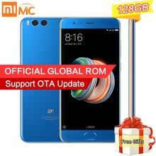 """Original Xiaomi Mi Hinweis 3 Smartphone 6 GB 128 GB Snapdragon 660 Octa Core 5,5 """"1080 P 16MP Frontkamera AI Schönheit Gesicht anerkennung"""