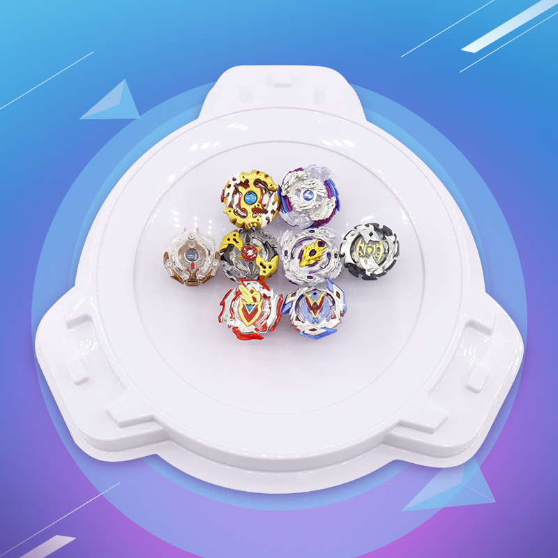 8pcs Beyblade Burst Set Bayblade Self-assembly Toupie Bey blade Arena Metal Fusion Toys With Launcher and Handle Spinning Top #E beyblade burst set self assembly toupie beyblade arena metal fusion toys launcher bayblade spinning top bey blade starter kit