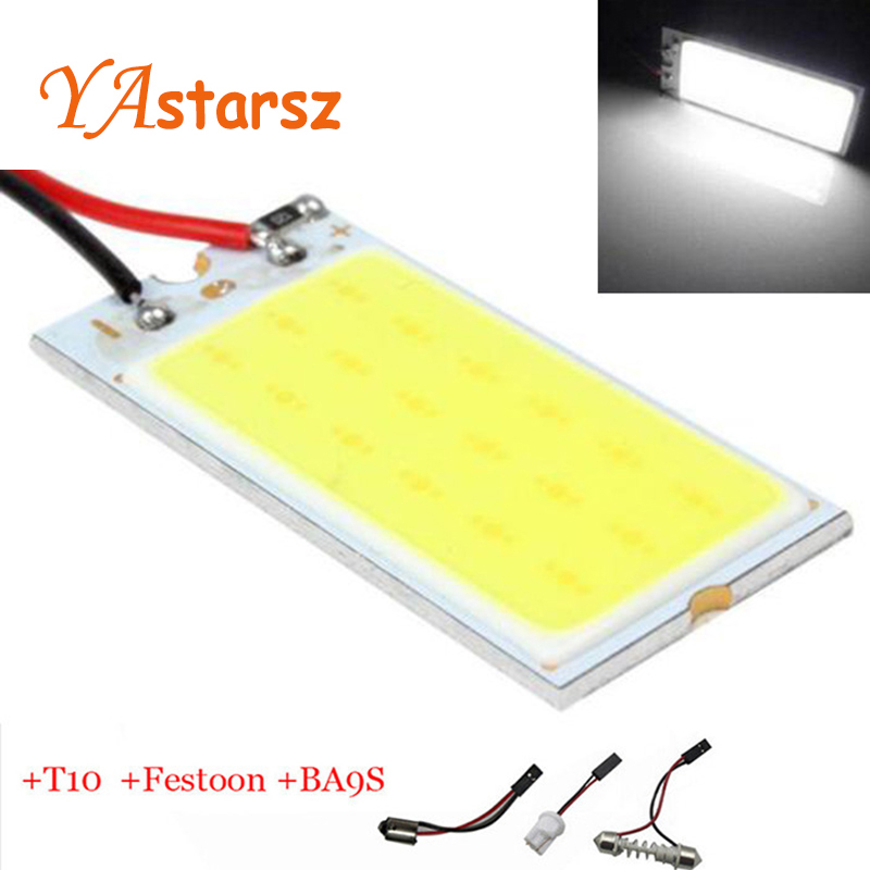 2x big promotion t10 36 smd cob led panel super white car auto interior reading map lamp bulb. Black Bedroom Furniture Sets. Home Design Ideas