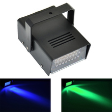 Mini LED Strobe Light with 24 Super Bright LEDs Mobile DJ Party Disco Light Effect