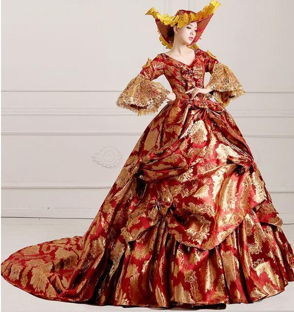 Halloween costumes for women edwardian dresses medieval princess ...