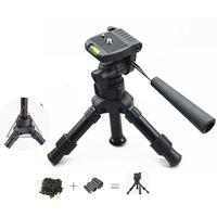 Small Size MINI Tripod Stand Lightweight Portable Tripod Aluminum Metal Flexible Tripods Stand Mount for MINI Projector