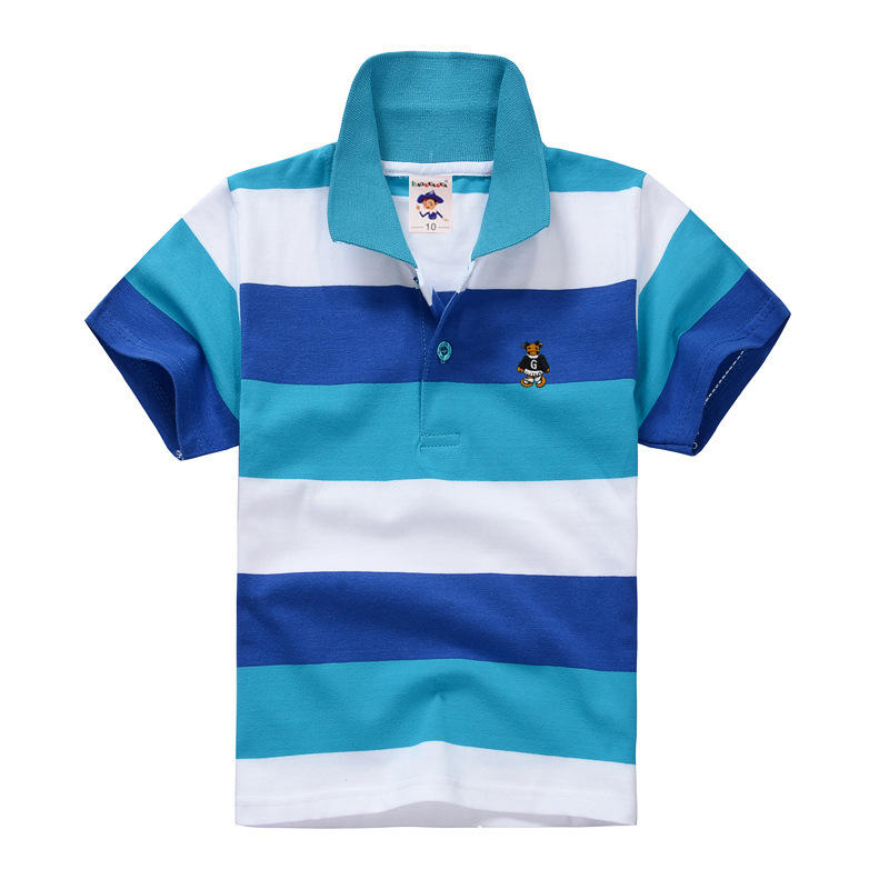 High Quality Unisex Baby Boys Girls T shirt Tops Tees Summer Short sleeve Soft Cotton Baby Polo Shirts
