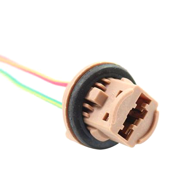 7440 7443 T20 Wedge Bulb Socket Brake Turn Signal Light Harness Wire LED  Tail Plug,