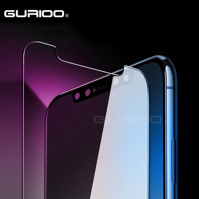 GURIOO 2.5D 0.3mm 9 H Premium de Vidro Temperado Para Apple iPhone X 10 Protetor De Tela Temperado película protetora (não Completa Cover)