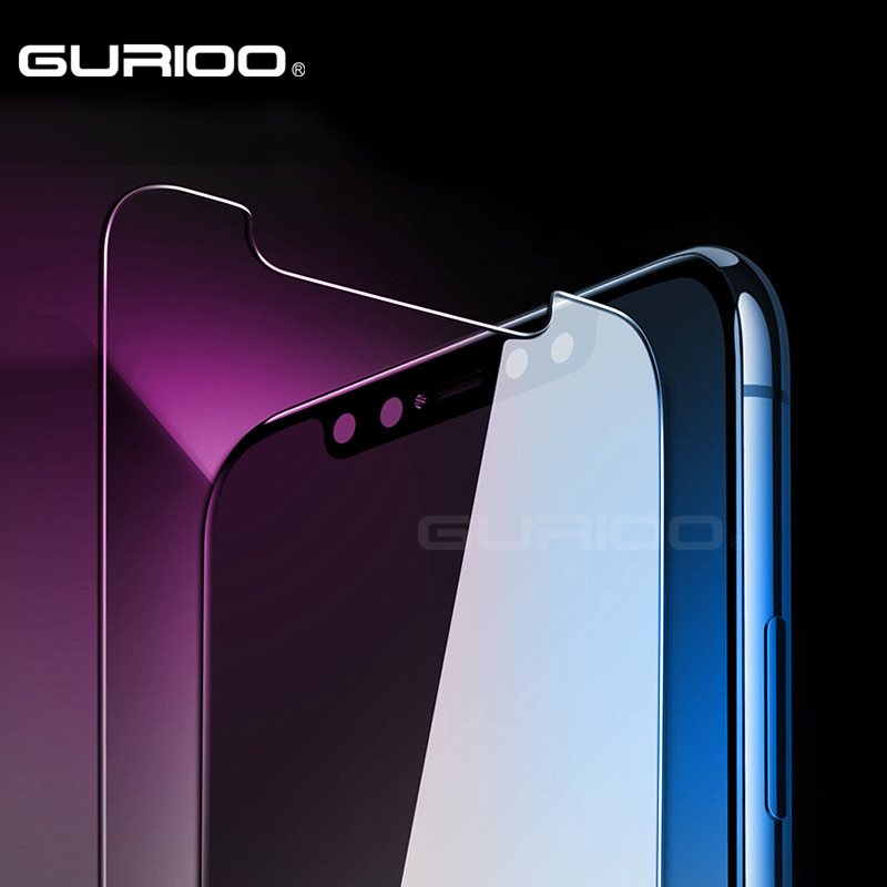 GURIOO 2.5D 0.3mm 9H Premium Tempered Glass For Apple iPhone X 10 Screen Protector Toughened protective film (Not Full Cover)