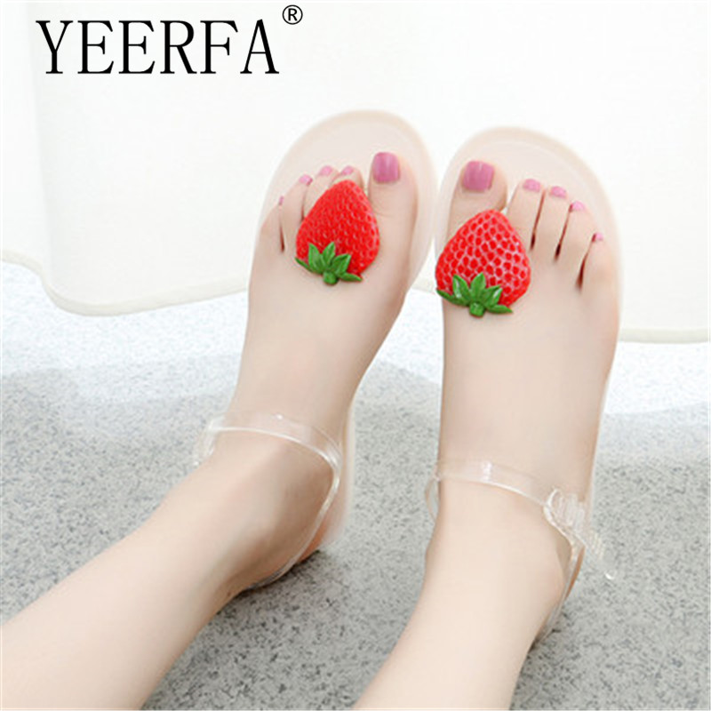 Jelly Sandals 2018 New Beach Jelly Shoes Woman Hot Summer Butterfly-knot Slip On Flats Casual Women Shoes size 35-40 yeerfa summer flip flops 2017 beach wedges sandals slip on flats casual creepers platform shoes woman sweet slippers size 35 40