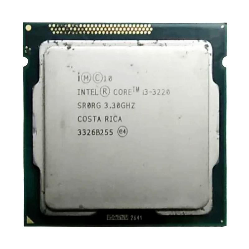 Intel Core I3 3220 Cpu 3.4ghz /3M Cache LGA 1155 TDP 55W Desktop Processor Can Use H61 B75 B85 Z77 H61 Chip, Have I3 3240 Sale