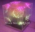 Smd 5 мм 3 в 1 16 * 16 * 16 = 4096 пикселей откладки яиц 3D из светодиодов куб свет, Из светодиодов для диско ну вечеринку, Выставка, Бар и т . д .