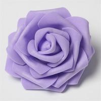 30Pcs/lot 8cm Artificial Flower PE Foam Rose Heads For Decorative Wreaths Wedding Event Party Decoration Home Garden Supplies