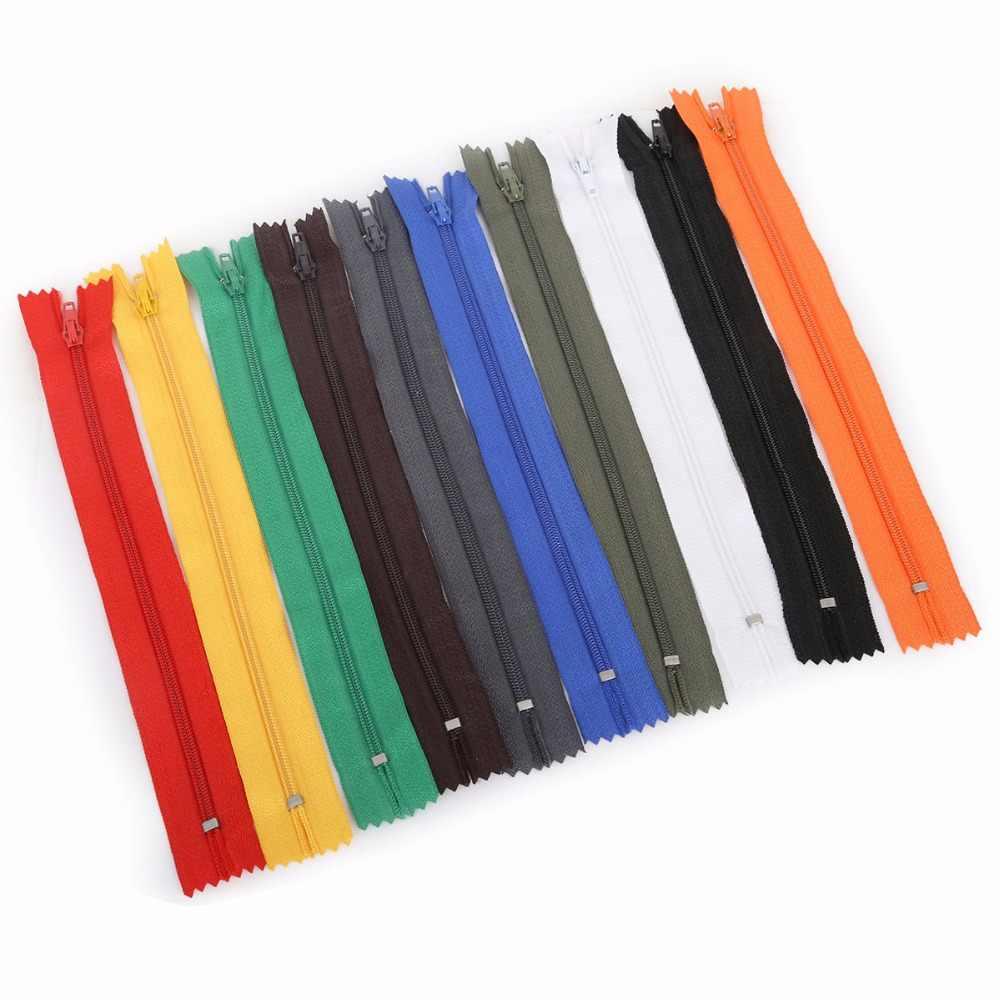 10 шт/лот 20 см длина Красочные open-конец смолы молнии портной одежды сумки Домашний текстиль Швейные изделия Аксессуары