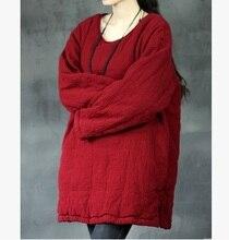 Зимой 2015 новые продукты, оригинальный дизайн более свободно большие ярдов хлопка женские хлопка мягкой одежды