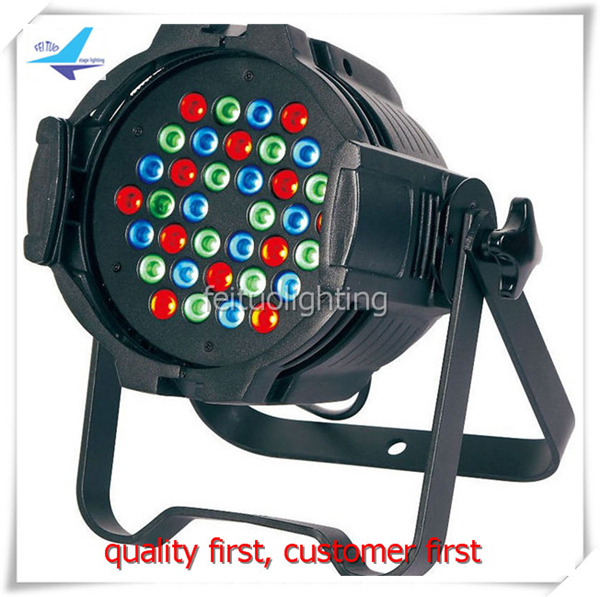 free shipping 4pcs/lot Hot 36x3w LED Par Light RGB Color Mixing Stage DJ Equipment Lighting Lumiere Disco Party Indoor Par Can eurolite led par 64 rgb 36x3w short silver
