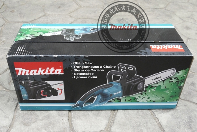 """Makita UC4030A electric chain saw 1800W Speed (per minute) 800m (2600mft) Chain gear 3/8 Automatic function prevents oil spill """" 5"""