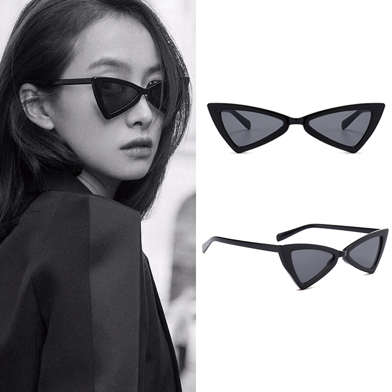 Nice Fashion Girls Mirror Clear Uv400 Luxury Brand Design Women Sunglasses 2018 Vintage Retro Ladies Sun Glasses Black New Oversize Consumers First Women's Glasses
