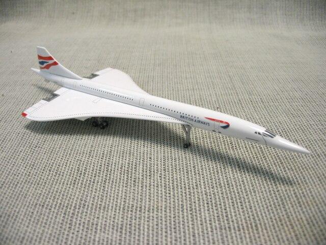 Special offer schuco Gemini Jets 1: 400 British Airways Supersonic Concorde model Favorites Model