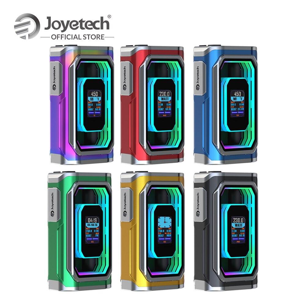 Joyetech Original ESPION infini Mod sortie 230 W puissance en watts TC Box Mod par les Modes d'alimentation/RTC/dérivation/TC/TCR Cigarette électronique