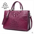 gete 2018 new New imported crocodile leather bag leather handbag lady big bag crocodile leather woman fashion women Bag