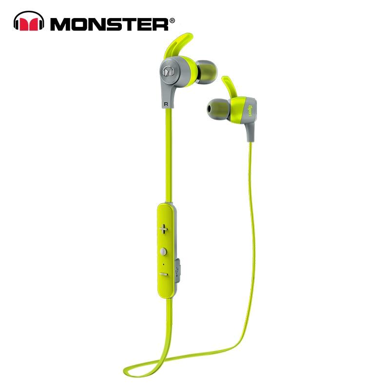 Monster ISport Wireless Bluetooth i7s Headphone original Sweatproof Earphone Tws Earbuds Para Celular headset