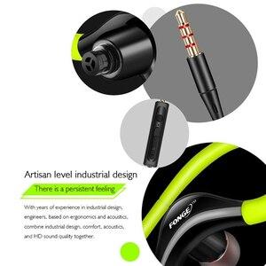 Image 4 - Esporte fone de ouvido fonge gancho super bass sweatproof fone de ouvido estéreo esporte para xiaomi huawei galaxy s6 telefone inteligente