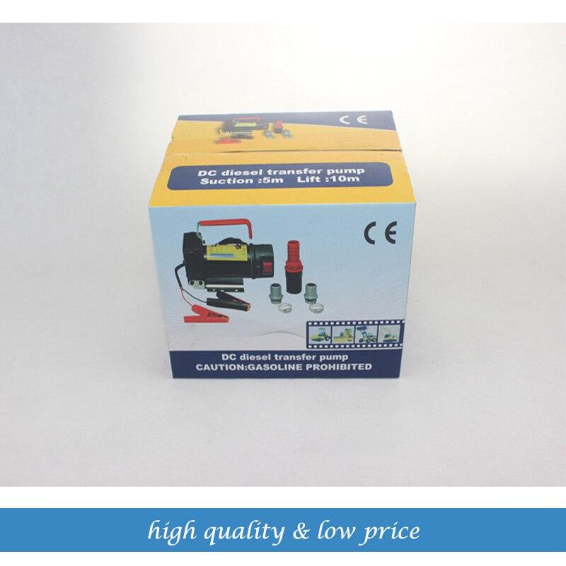 Pompe à huile de pompe de transfert diesel auto-amorçante 45LPM la pompe à essence pompe de transfert de carburant 12/24 V