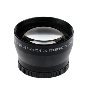 Image 3 - 46mm 2X magnification Telephoto Lens for Panasonic Lumix DMC FZ18 FZ28 FZ35 FZ38 Digital Camera