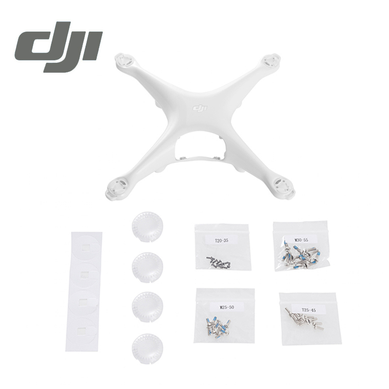 все цены на  DJI Phantom 4 Shell Body Shell Protector Case for Phontom4 Housing Original Accessories Parts  онлайн