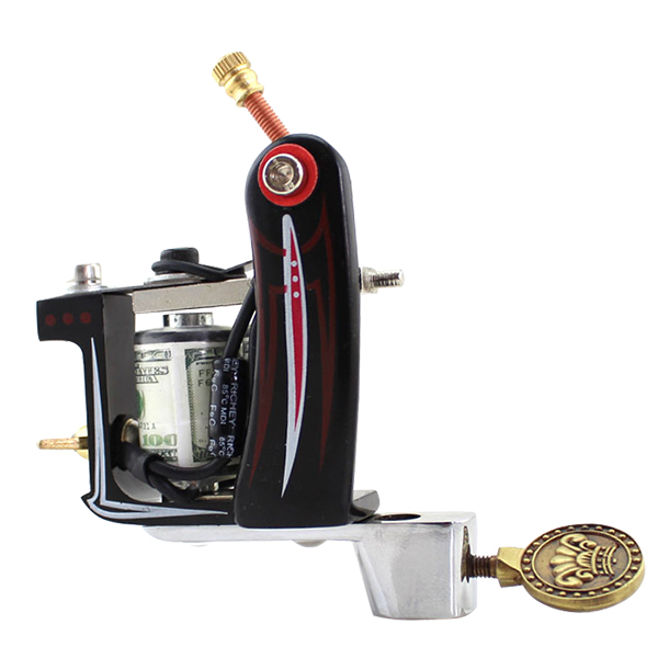 Solong Tattoo complete professional 2 tattoo Machine Guns set Tattoo Kit 28 Inks Needle Grips power supply TK204-10