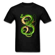 Chinese Green Dragon T Shirts Men Classic Patterns T-Shirt For Adult Interesting T Shirt Plus Size Spring Summer Street Style