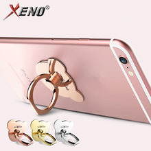 Magnetic Holder Luxury 360 Degree magnet Finger Ring Mobile holder Cell cellphone Phone Smartphone Lazy Stand Holder Smart Phone(China)