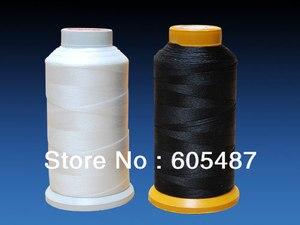 Швейная нить V69 T70 из 100% нейлона, для обуви, кожи, парусов, 1000 м/катушка, 2 шт./лот, бесплатная доставка