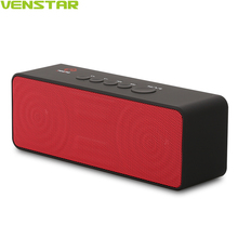 VENSTAR S207 2800 mAh Mini Altavoz Portátil Bluetooth Wireless Negro Rectángulo 10 W Altavoces Bluetooth 4.1 Ultra Bass Mic Incorporado