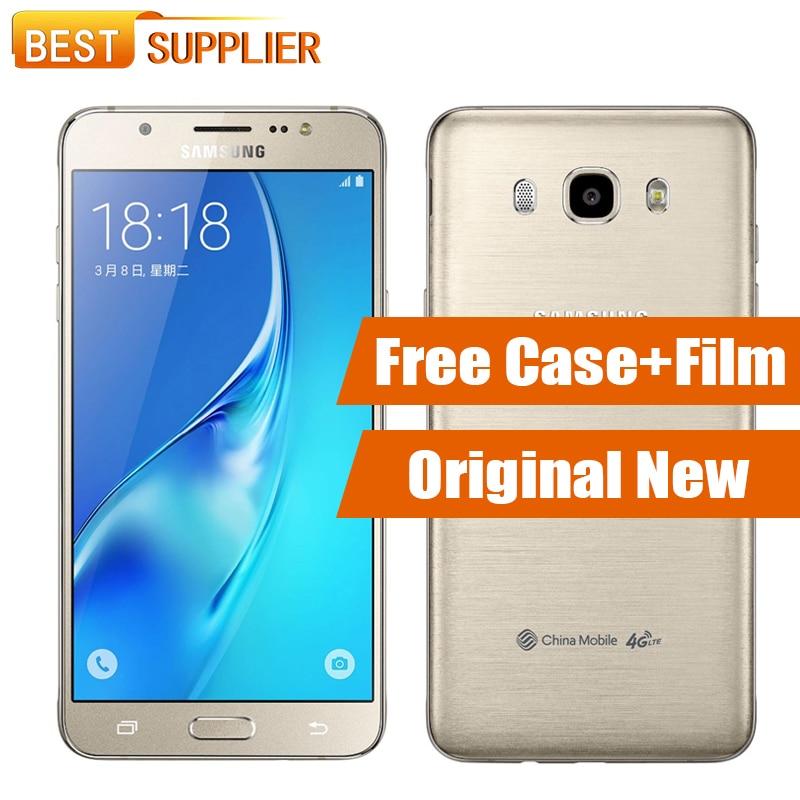 """Цена за Оригинальный новый samsung galaxy j5 2016 j5108 2 ГБ ram 16 ГБ rom мобильный телефон 5.2 """"Quad Core 3100 мАч Android 13.0MP GPS NFC Dual SIM"""