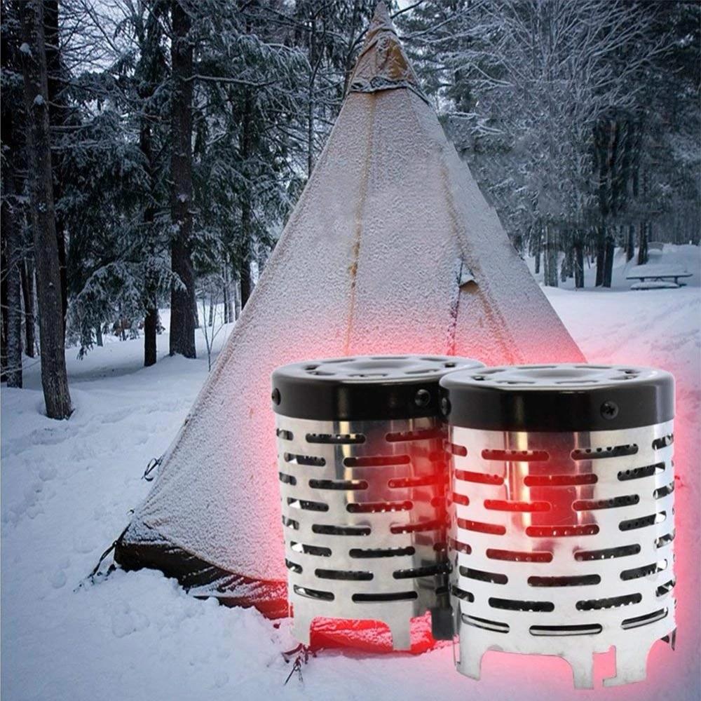 BLTX R/échaud de Camping /à Gaz Portable et Pliable Mini R/échaud Gaz avec Allumage pour Randonn/ée Pique Nique Barbecue