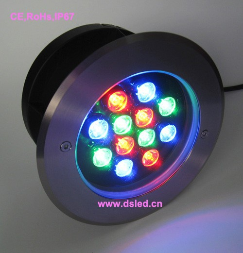 CE,IP68,high power 12W RGB LED outdoor spotlight,good quality stainless steel fitting SL ...